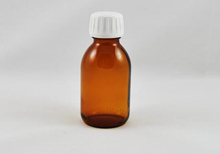 Steklenička s širokim grlom