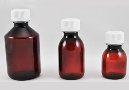 Plastenke (rjave) za olja s pokrovčkom